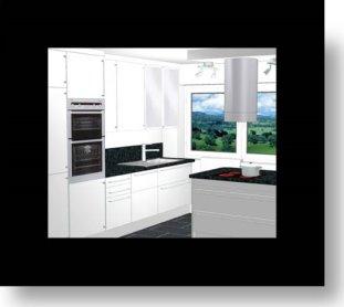 eigentlich ist die k che ja zu klein f r sitzpl tze am. Black Bedroom Furniture Sets. Home Design Ideas
